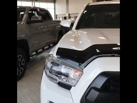 Modified 2019 Toyota Tacoma V6 4X4 TRD Off-Road double cab shortbox with the automatic transmission