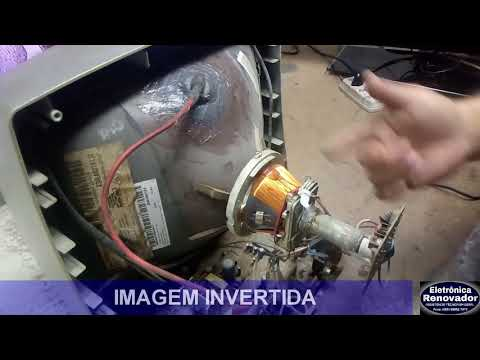 TV SEMP COM A IMAGEM INVERTIDA