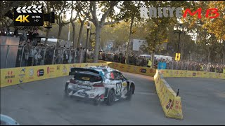 RallyRACC WRC Catalunya Spain 2018 - SS1 Barcelona - 4K