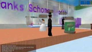 Second Life wedding on 5 April 2007, which took place in the chapel...