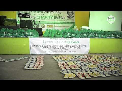 MMM Charity Brgy  Dalahican, Lucena City  | MMM Philippines (August, 2015)