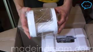 ШНЕКОВАЯ СОКОВЫЖИМАЛКА Coway распаковка unboxing почта EMS