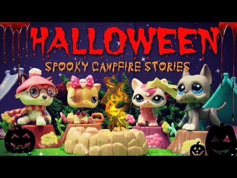 "LPS- Halloween Movie- ""Scary Campfire Stories"" (Skit)"