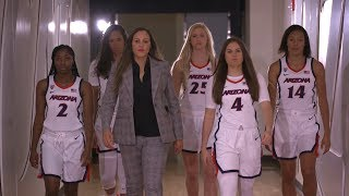 Through tragedy, Arizona women's basketball head coach Adia Barnes and the team grow stronger...