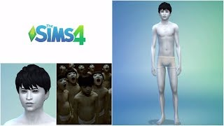 """The SIMS 4 """"CAS - Toshio (Ju-On/ The Grudge)"""""""