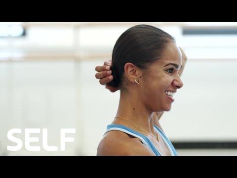 How to Do Misty Copeland's Perfect Ballerina Bun   Cover Shoots   SELF