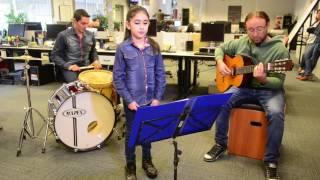 Catalina Ruarte cantando Zamba para Olvidar