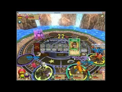 1ST VIDEO BEING FUNNY ON WIZARD101