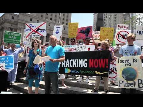 Anti Fracking Rally NYC June 2011