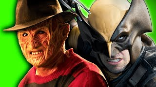 Freddy Krueger vs Wolverine. ERB Behind the Scenes