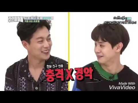 OPPA YA - HIGHLIGHT Junhyung & Doojoon's aegyo - WEEKLY IDOL