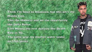 Vic Mensa - Dynasty - Lyrics