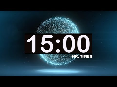15 Minute Timer with Music for Kids! Best, Calm, Relaxing, Soft, Simple,  Countdown Music Timer!