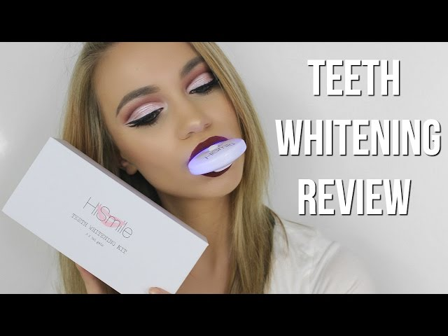 How I Whiten My Teeth // HiSmile Review & Demo
