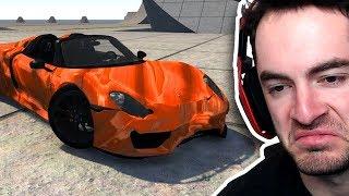 Crashing My New Porsche 918
