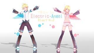 【MMD/YYB HD 】Electric Angel 【鏡音リン・レン】