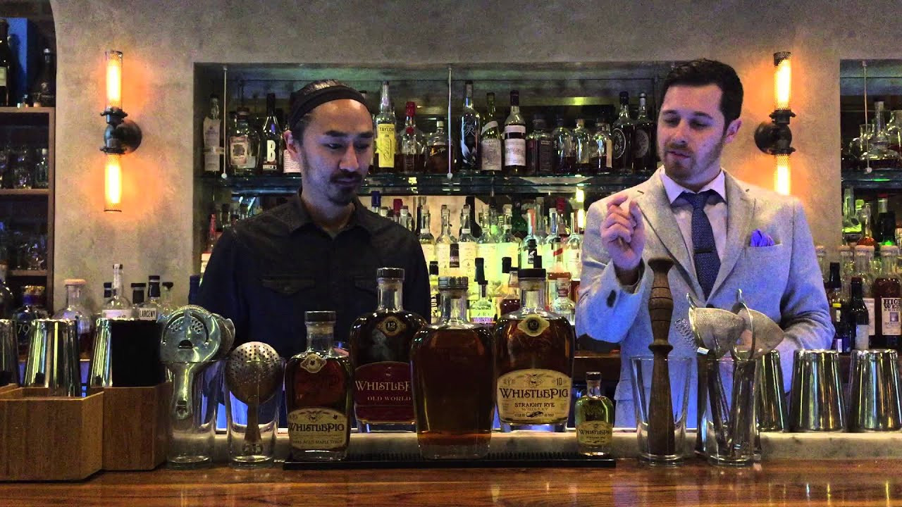 The Franklin Room Whiskey of the Week: WhistlePig Rye - YouTube