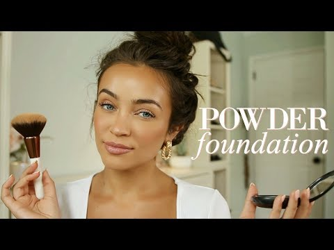 Fashion Finds - *Sweatproof* Powder Foundation Makeup Routine