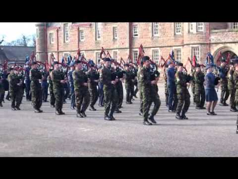 Army Cadet Force and Air Training Corps Pipes & Drums Inverness 2013
