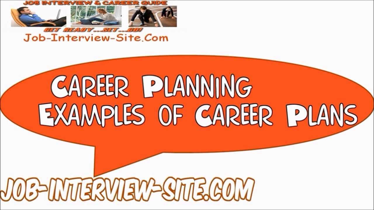 Career Plan Examples Career Development Plan Explained Youtube .