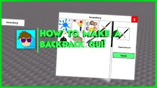 ROBLOX: Backpack/Inventory Gui Tutorial