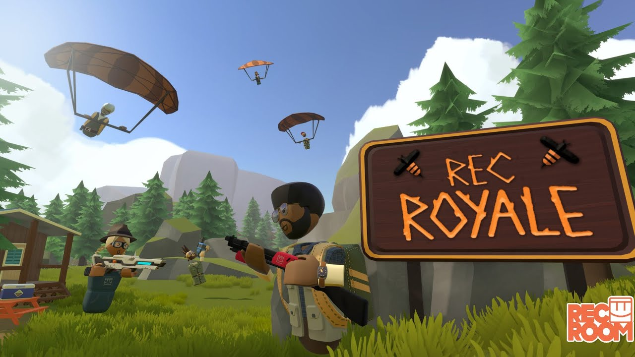 Rec Room Royale (W/ Hooded Daniel and CT)