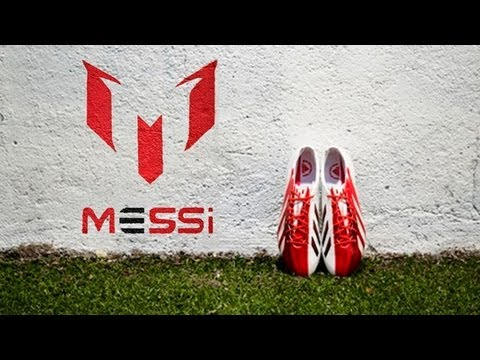 Messi Edition Red/White adidas adizero F50 Boot Test