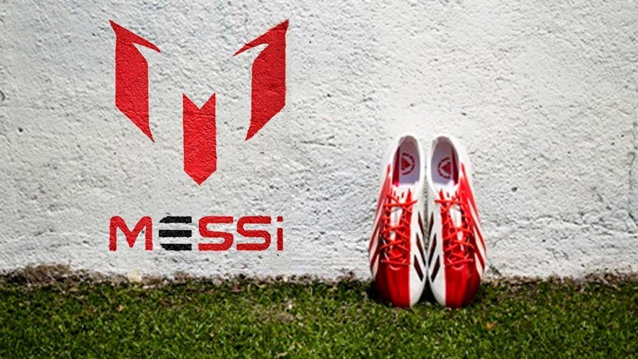 Messi Edition RedWhite adidas adizero F50 Boot Test  YouTube