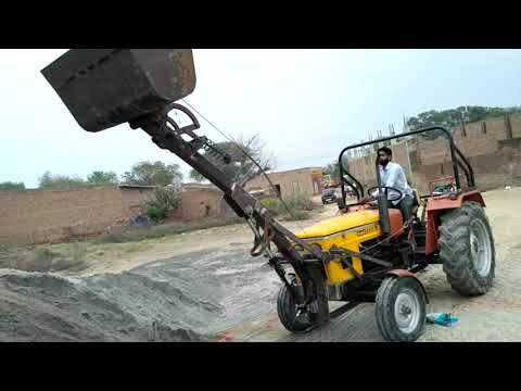 Hmt 4511 mini JBC working porom video Agriculture works Kalanwali Sirsa Haryanan