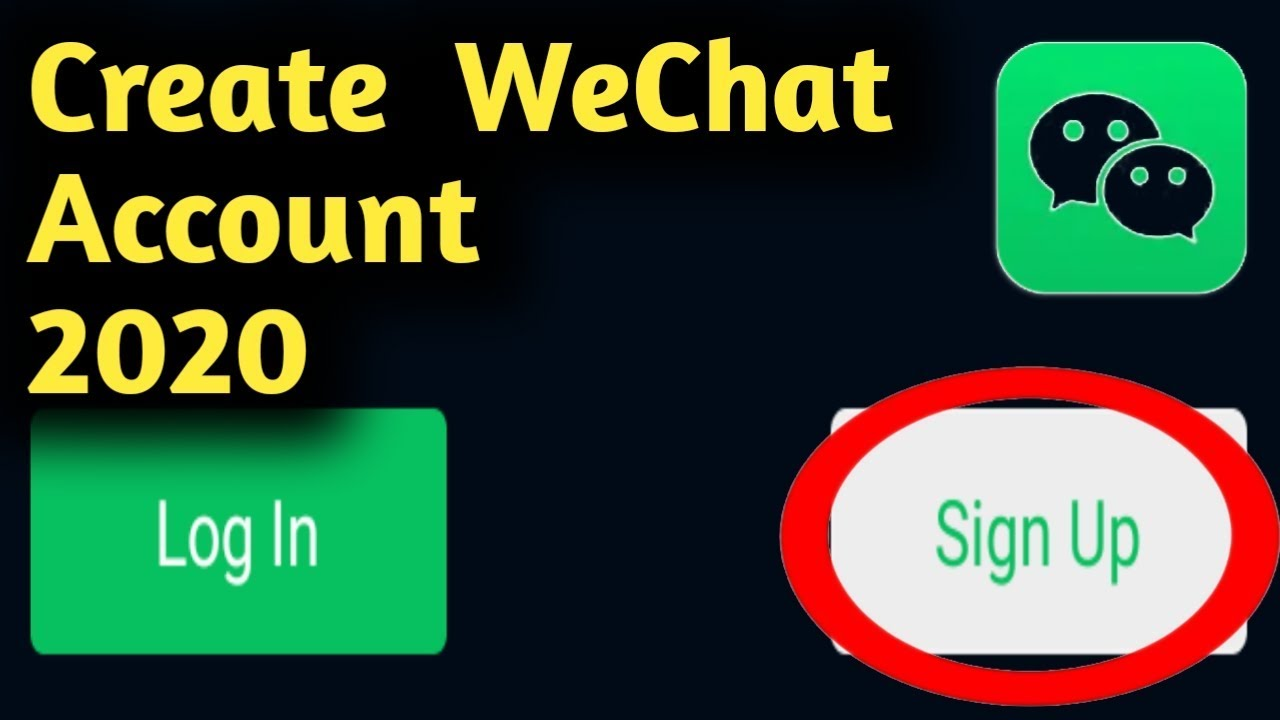 how to create open wechat account 2020