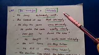 Adverb phrase -its forms