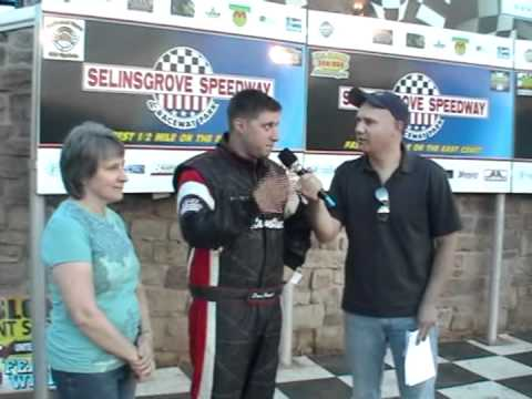 Selinsgrove Speedway 360/358 Sprint Car Highlights 5-12-12