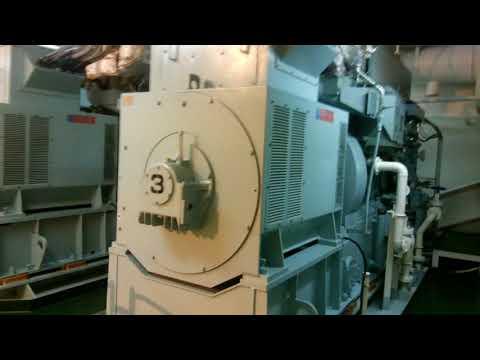 Engine Room of 34,378GRT GEAR BULK CARRIER SUPRAMAX