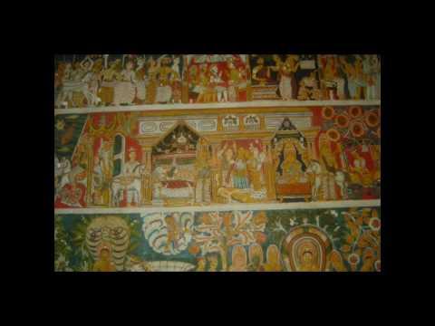 murals: Jataka - suvisivarana - Buddhacarita ... southern province Srilanka