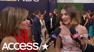 'Stranger Things' Millie Bobby Brown Says Drake Helps Her With Boys | Access