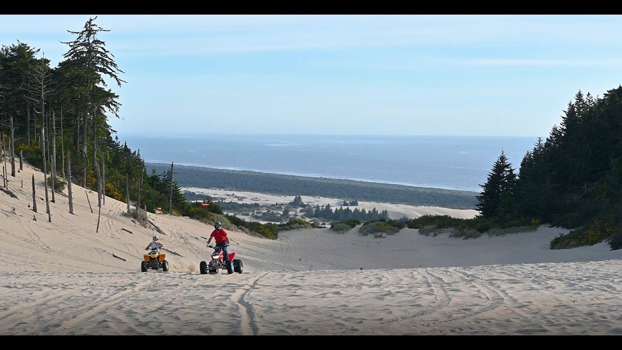 Ridin Dirty Rentals, anybody can ride the Oregon dunes!