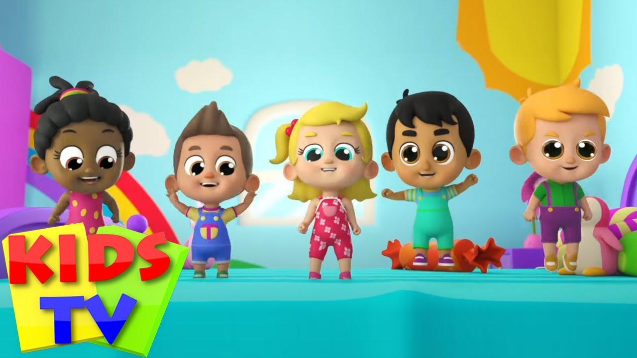 Beş Küçük Bebek | Çocuklar için şiirler | Kids TV Türkçe | Eğitim videoları | Çocuk Yuvası