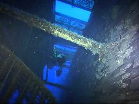 Oceanos Wreck Meridian Dive Team.