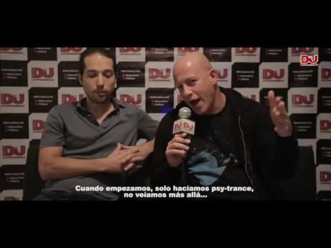 Infected Mushroom interview at Mandarine Club (2016-11-29)