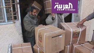 حملة إغاثة في درعا والقنيطرة بدعم من دولة الإمارات العربية المتحدة