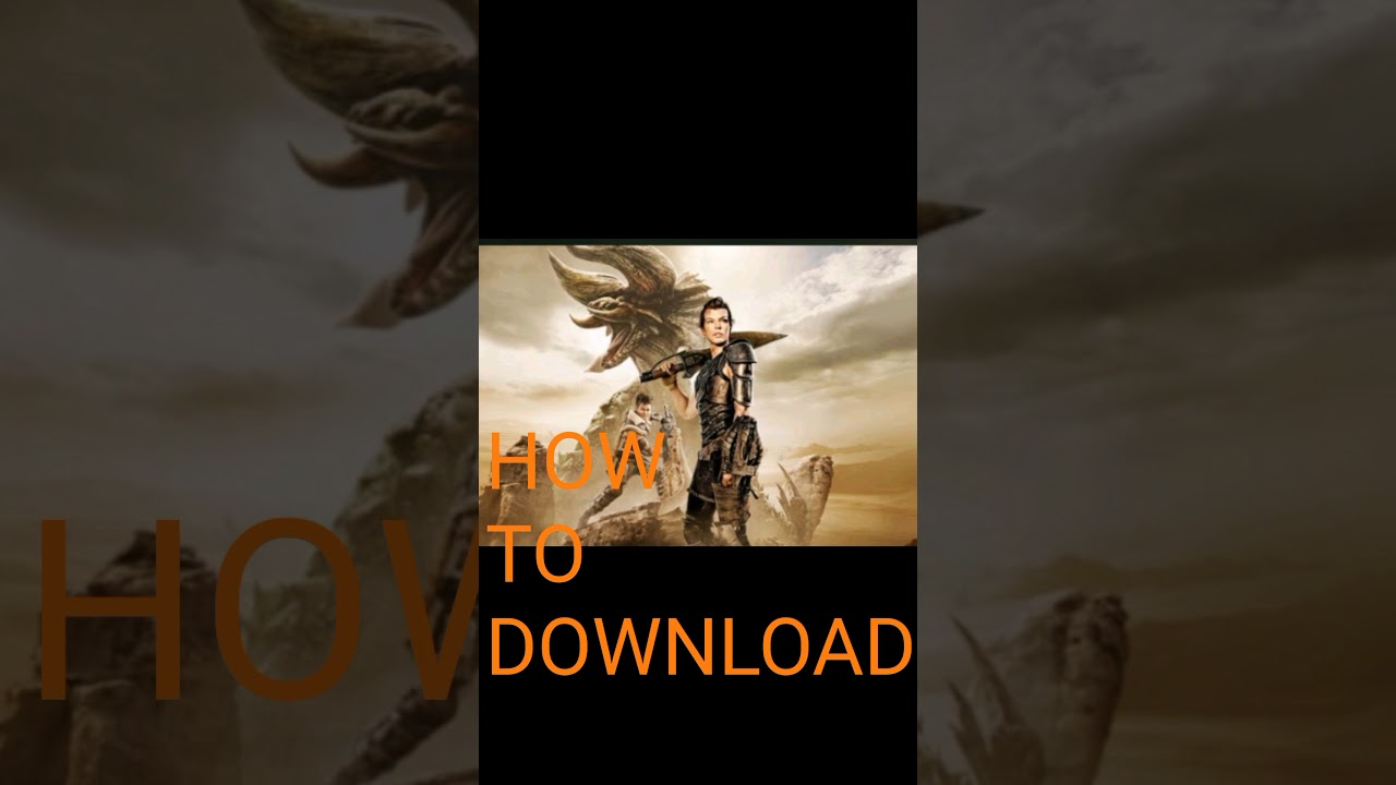 Download How to download monster hunter (2020)/full movie//