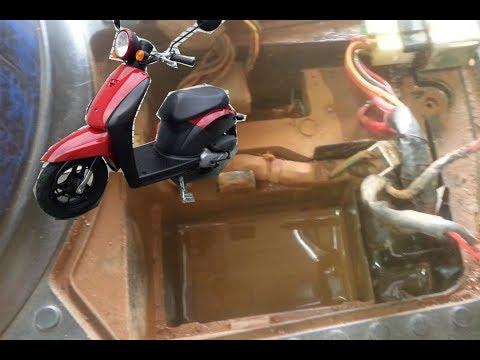 Honda Today Repair-ជួសជុលម៉ូចូលទឹក
