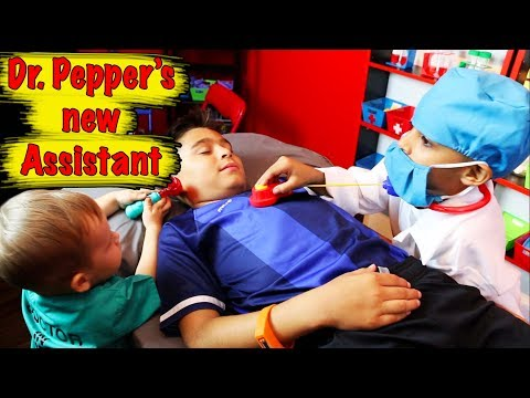 PLAYING DOCTOR - DR. PEPPER