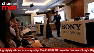 Sony launches 3D Home Theatre Projector