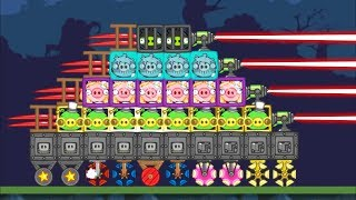 - Bad Piggies ALL DIFFERENT PIGGIES IN ONE FIGHTING TANK SILLY INVENTIONS