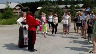 видео Архитектурно-этнографический музей в Семенково