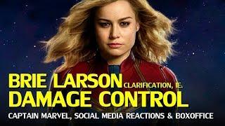 Captain Marvel Damage Control: Brie Larson Controversies Continue