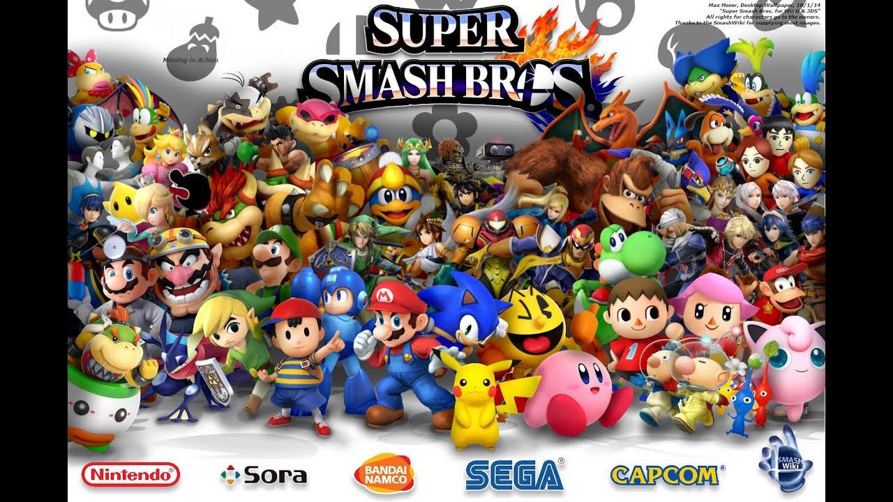 Super Smash Bros For Wii U 3DS Desktop Wallpaper