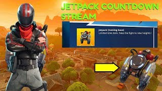 "Fortnite:Battle Royale ""Jetpack"" Gameplay Update Tonight (Fortnite Jetpack) Giveaways and more"