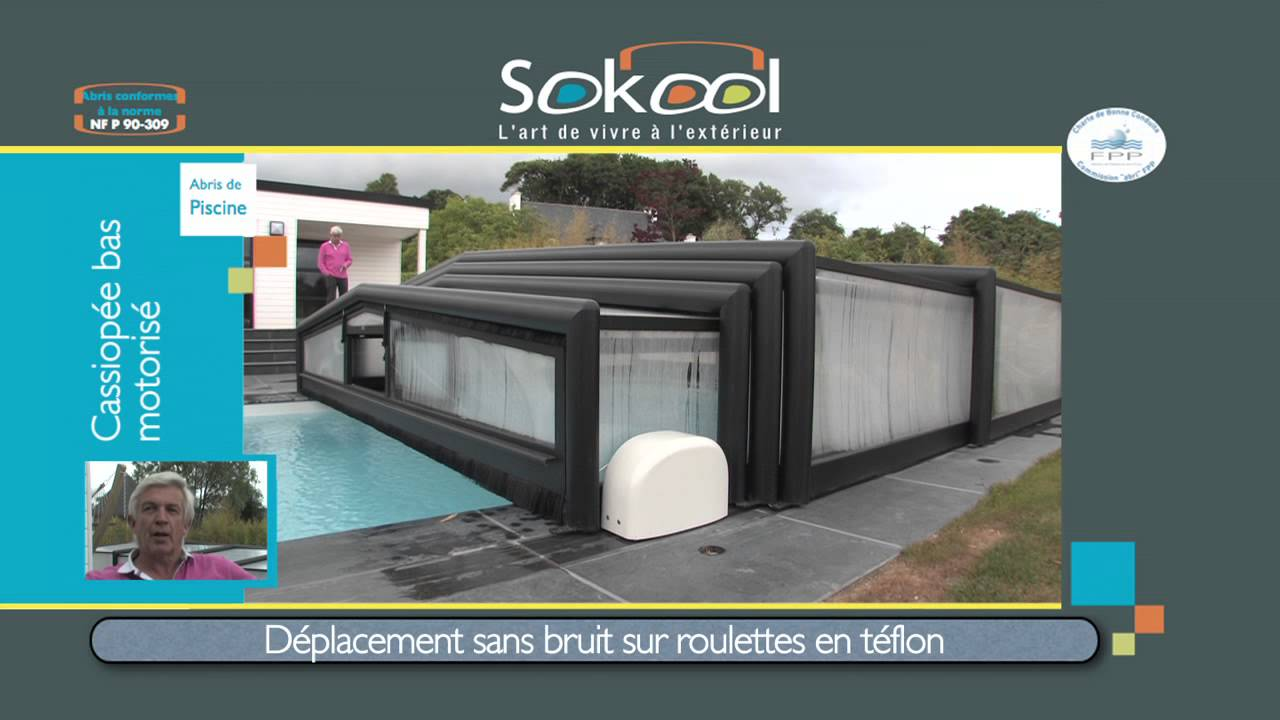 Sokool un abri de piscine morlay youtube for Abri de piscine sokool
